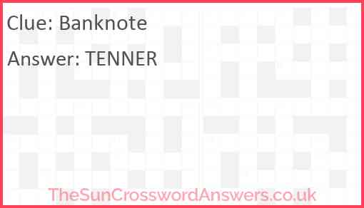 Banknote Answer