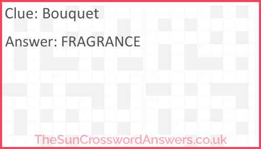 Bouquet Answer