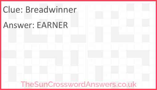 Breadwinner Answer