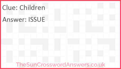 Children Answer