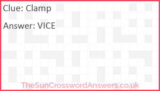 Clamp Answer