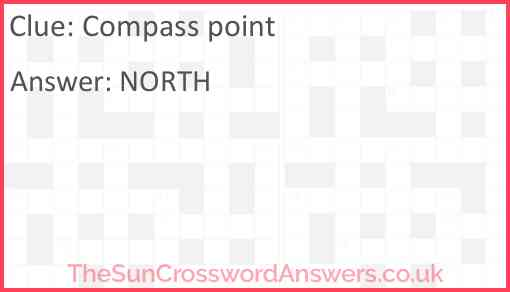 Compass point Answer