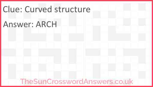 Curved structure Answer