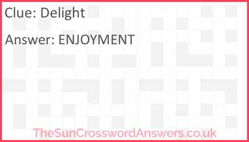 Delight Answer