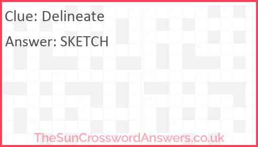 Delineate Answer