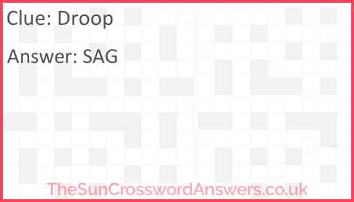 Droop Answer