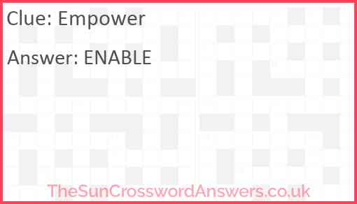 Empower Answer