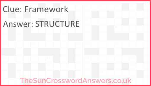 Framework Answer