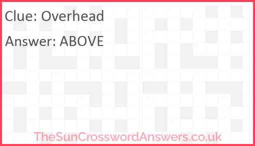 Overhead Answer