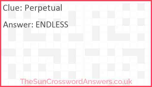 Perpetual Answer