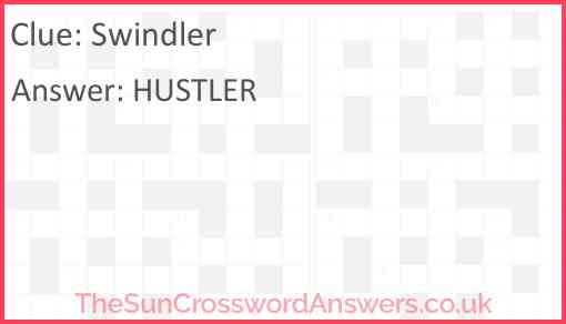 Swindler Answer