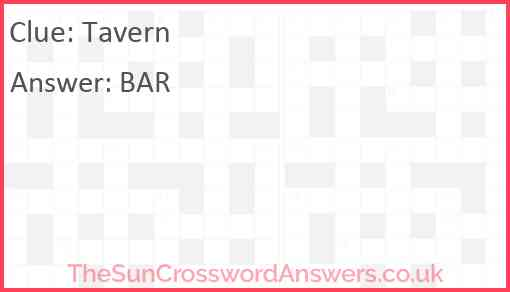 Tavern Answer