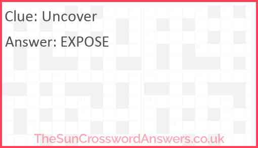 Uncover Answer