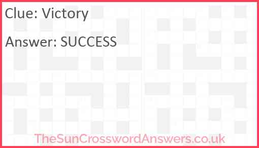 Victory Answer