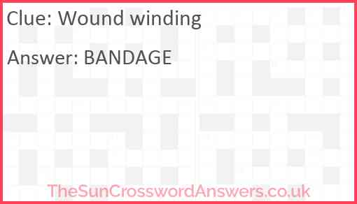 Wound winding Answer